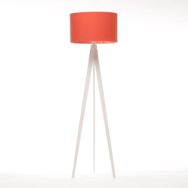 Lampa stojąca Artist Red Felt/White Birch, 125x42 cm