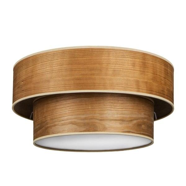 Lampa sufitowa w kolorze drewna wiśniowego Sotto Luce TSURI Elementary,Ø40cm