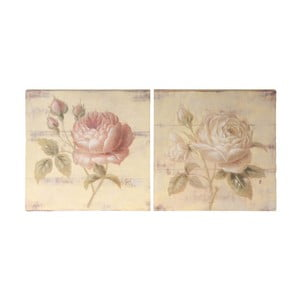 Zestaw 2 obrazów Roses II
