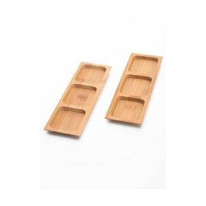 Zestaw 2 misek do serwowania przekąsek Bambum Almeria, 18 cm