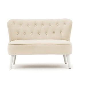 Beżowa sofa dziecięca PumPim Lia, szer.85cm