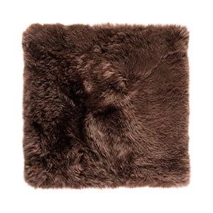 Brązowy   dywan kwadratowy Royal Dream Zealand