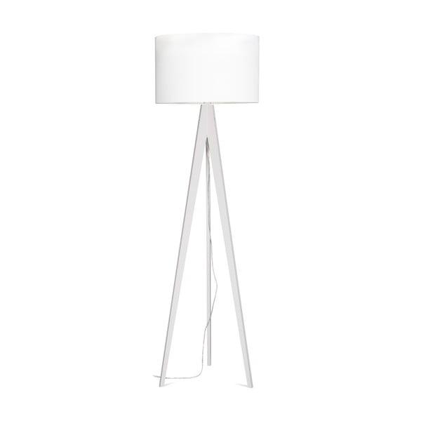 Lampa stojąca Artist White/White, 125x42 cm