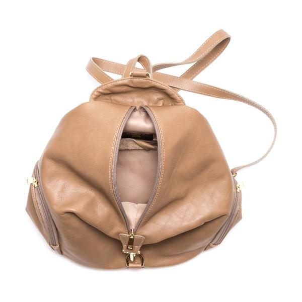 Plecak skórzany Santa, szaro-brązowy