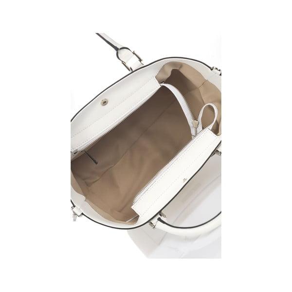 Biała torebka skórzana Krole Kayleen