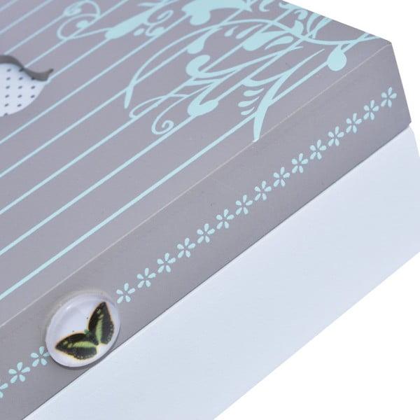 Drewniane pudełko Butterfly