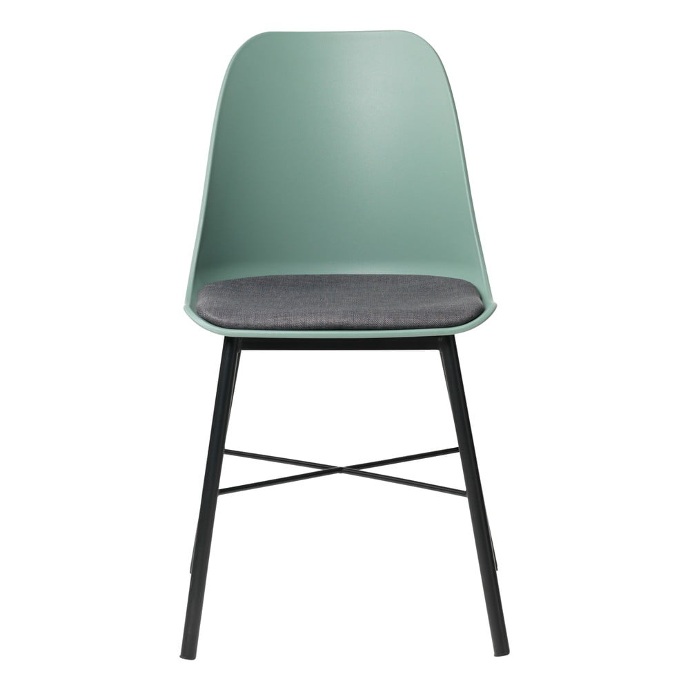 Zestaw 2 zielono-szarych krzeseł Unique Furniture Whistler
