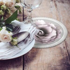 Zestaw 2 mat stołowych Grey Rose