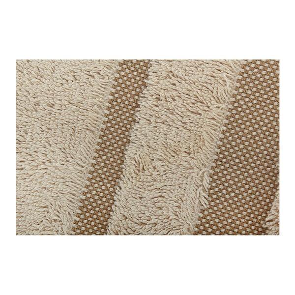 Zestaw beżowego ręcznika i ręcznika kąpielowego Serit