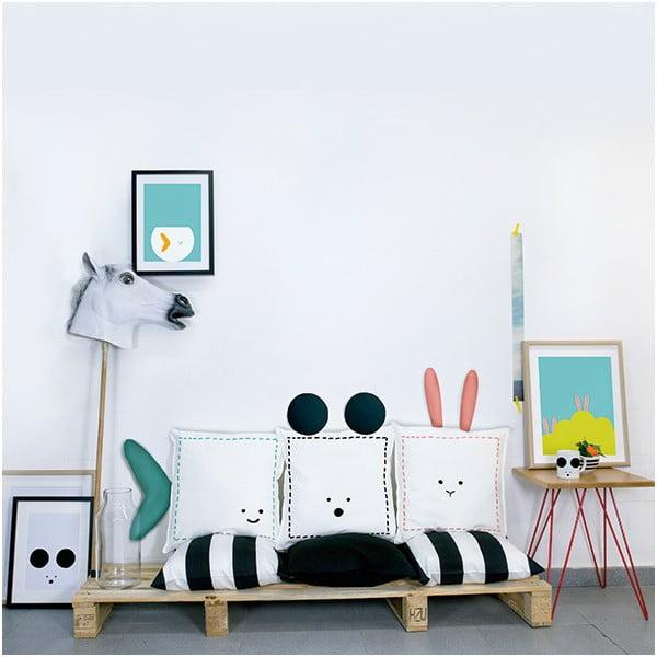 Poduszka Rabbit, 40x40 cm