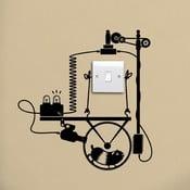Naklejka Hamster Wheel Generator