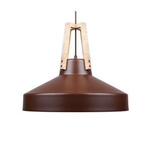 Brązowa lampa wisząca Loft You Work, 33 cm