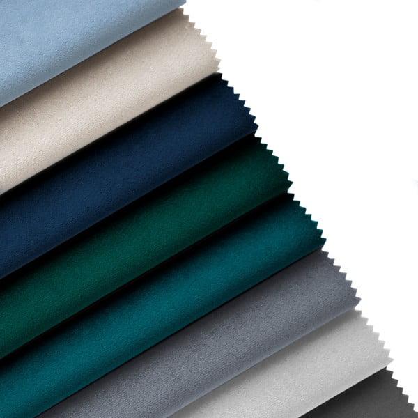 Jasnoniebieski szezlong z podłokietnikiem po prawej stronie Cosmopolitan Design Vienna