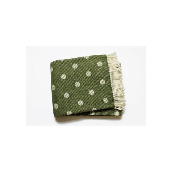 Koc Sevilla Plaid Moss Green, 140x180 cm