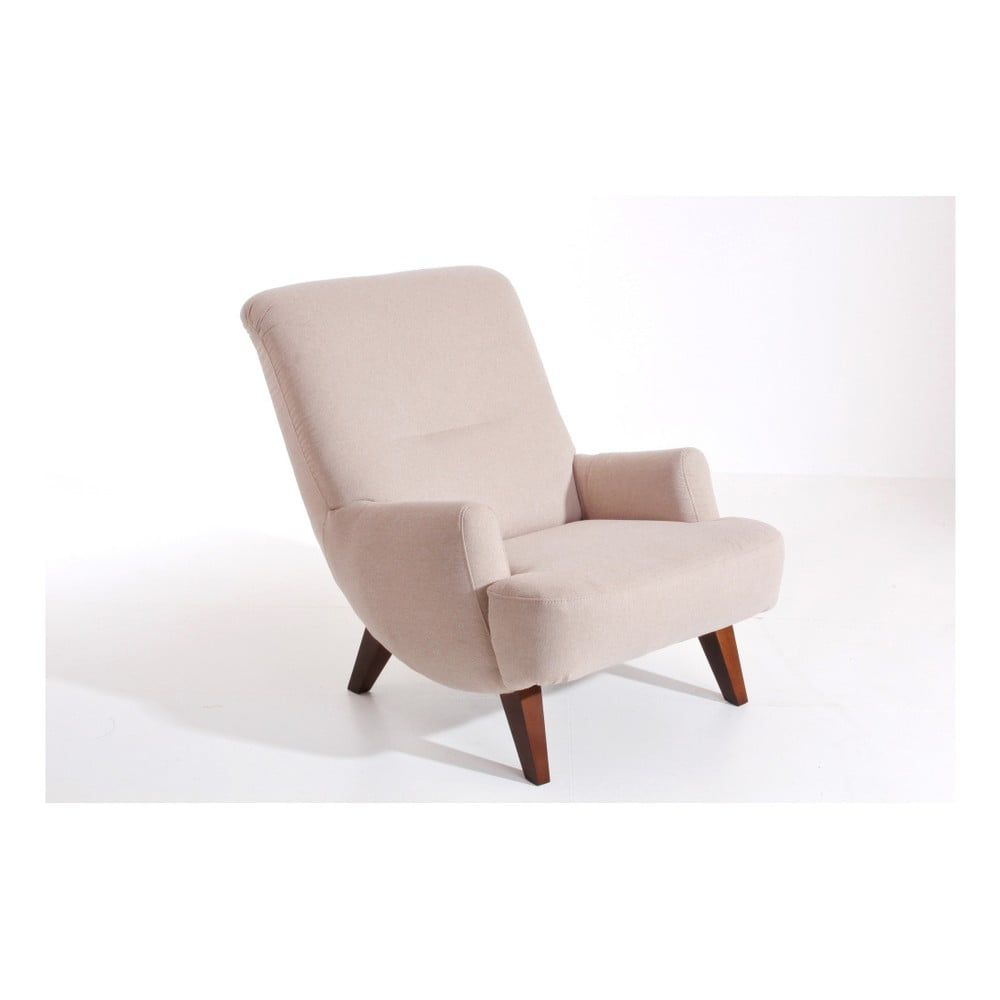 Beżowy fotel Max Winzer Brandford
