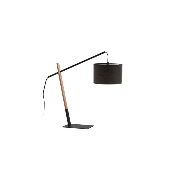 Czarna lampa stołowa La Forma Izar