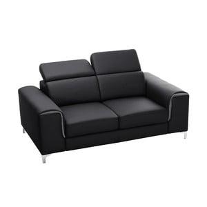 Czarna sofa Backstage