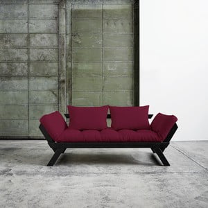 Sofa Karup Bebop Black/Bordeaux