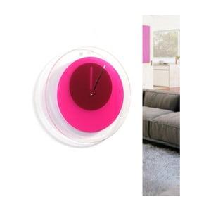Zegar Orbit, różowy