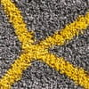 Szaro-żółty dywan Think Rugs Royal Nomadic Grey & Yellow, 160x230 cm
