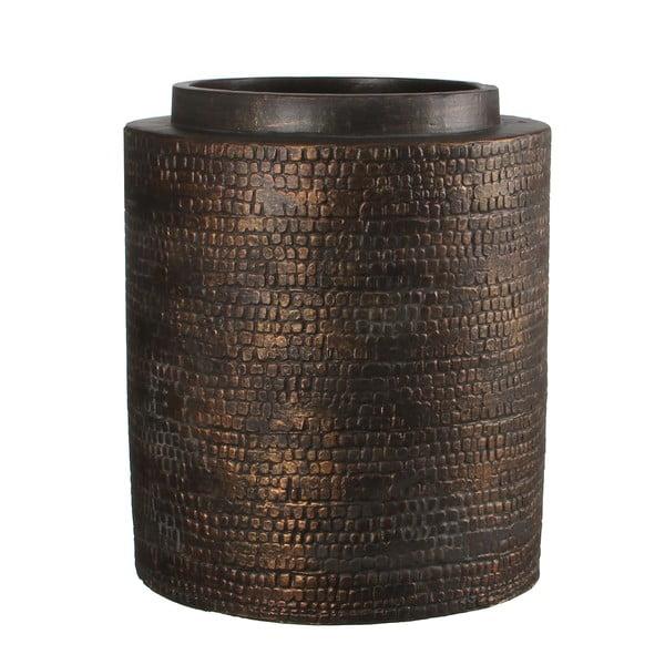 Wazon ceramiczny Brasa Black Copper, 32 cm