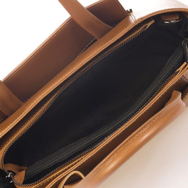 Koniakowa torebka skórzana Giorgio Costa Brescia