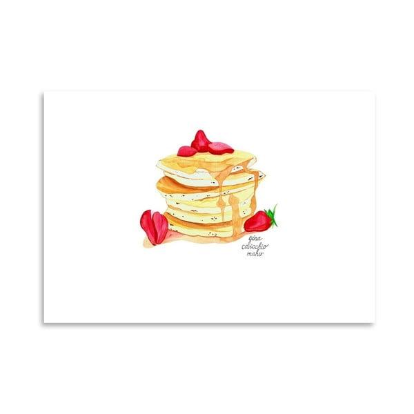 Autorski plakat Pancakes, 30x42 m