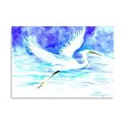 Plakat Blue Heron (projekt Surena Nersisyana), 30x21cm