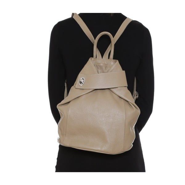 Skórzany plecak Anna Luchini 1083 Fango