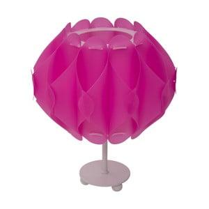 Różowa lampa stołowa Mauro Ferretti Ball