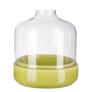 Świecznik Ceramic Green, 27x27x28 cm