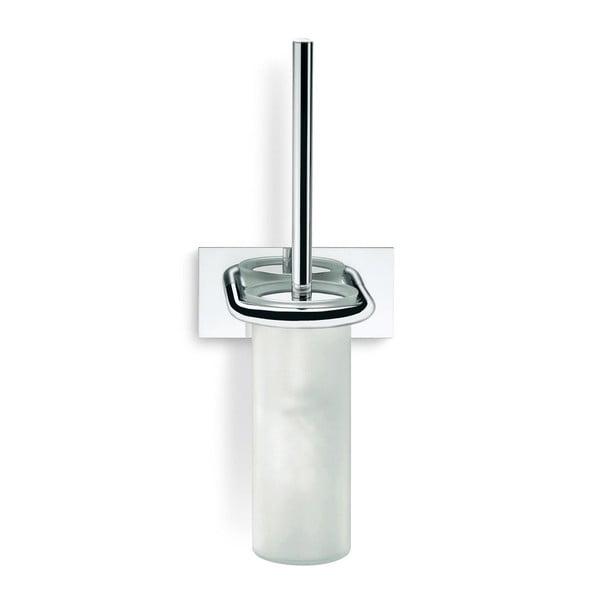 Stojak na szczotkę do WC, Chromo, 16x41x11,6 cm