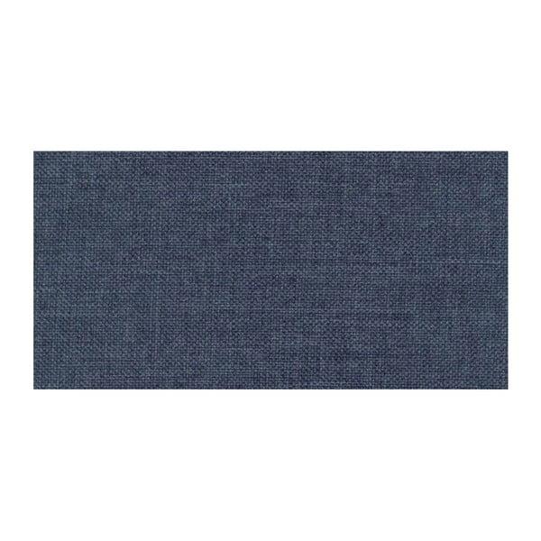 Niebieski rozkładany narożnik lewostronny Pashmina