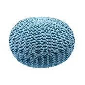 Niebieski puf Homemania Dedalo, ⌀ 45cm