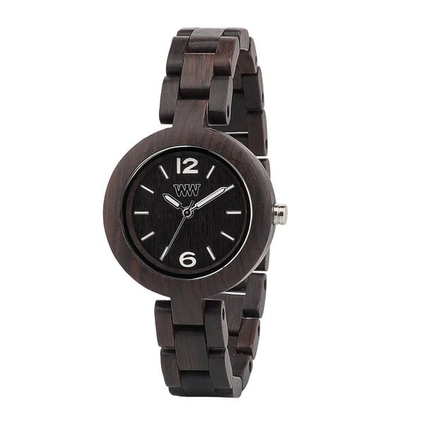 Drewniany zegarek Mimosa Black