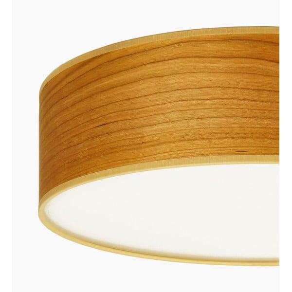 Lampa sufitowa w kolorze drewna wiśniowego Sotto Luce TSURI,Ø30cm