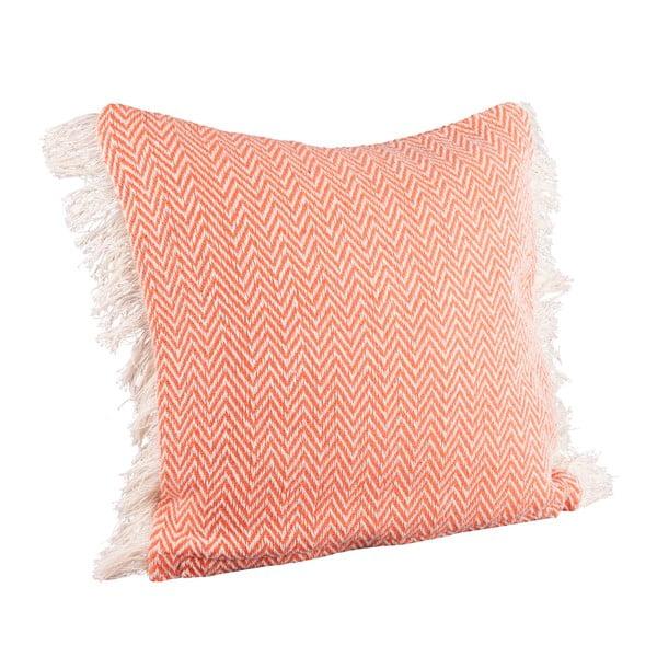 Poduszka Joshua 40x40 cm, pomarańczowa
