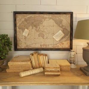 Dekoracja naścienna Deco Old Map World