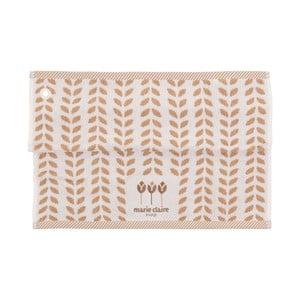 Zestaw 2 bawełnianych ścierek kuchennych z kolekcji Marie Claire Flower, 50x50cm