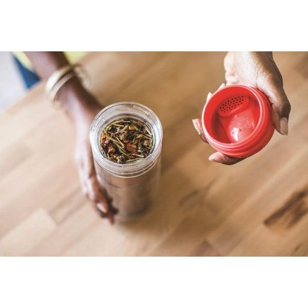 Kubek do herbaty z zaparzaczem Aladdin 350 ml, zielony