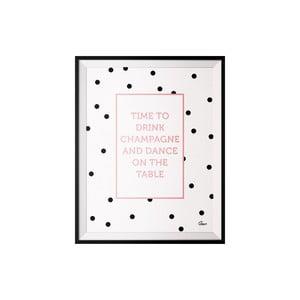 Plakat Champagne, 40x50 cm