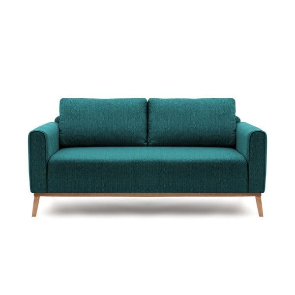 Turkusowa sofa trzyosobowa VIVONITA Milton