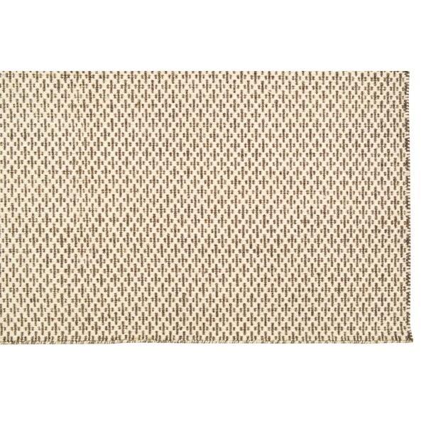 Ręcznie tkany dywan Beige Cross Kilim, 160x230 cm