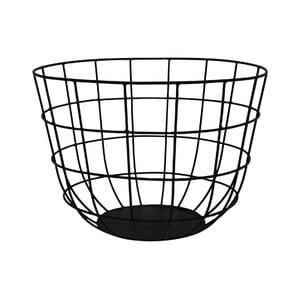 Metalowy koszyk Netz Black, 20 cm
