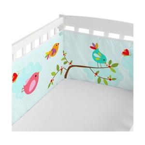Ochraniacz na łóżeczko Little W Happy Spring, 210x40 cm