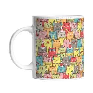Ceramiczny kubek Many Many Cats, 330 ml