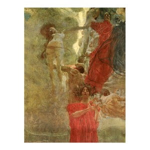 Reprodukcja obrazu Gustava Klimta - Composition Design to Medicine, 45x60 cm