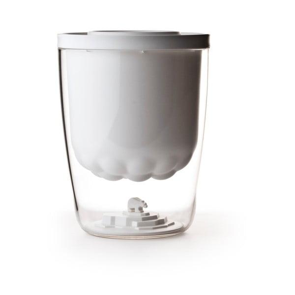 Pojemnik na lód QUALY Polar Ice Bucket, biały