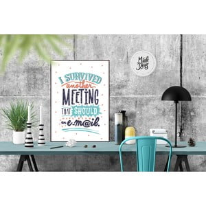 Plakat I Survived Meeting, A3