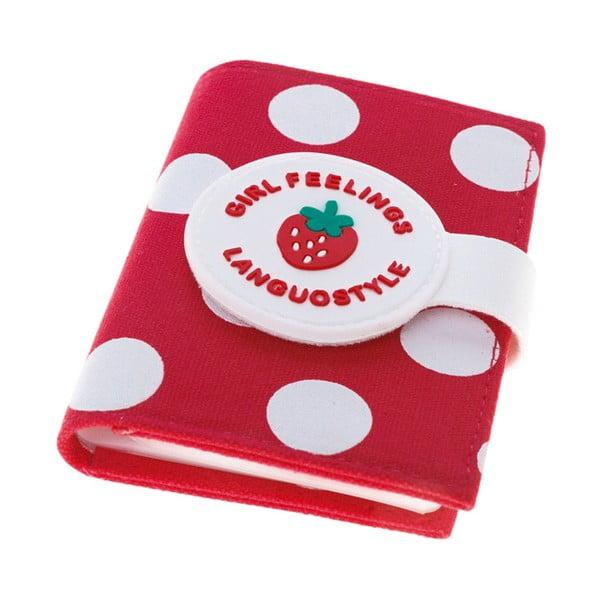 Etui na dokumenty Strawberry, czerwone